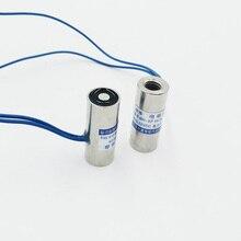 1 adet P10/25 Holding elektrik mıknatıs 24V kaldırma enayi 0.5Kg 5N dc 12V Solenoid elektromıknatıs