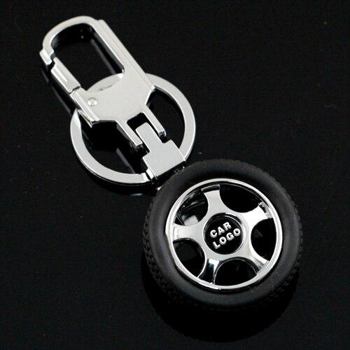 Auto Logo Band Band Wiel Vorm Sleutelhanger Sleutelhanger Key Chain