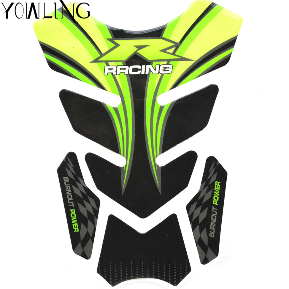 4 Pcs Stickers Moto Rubber Tank Traction Pad Side Knee Protector Decal For Honda Cbr Yamaha Suzuki Kawasaki Benelli Universal Beautiful In Colour Motorcycle Accessories & Parts