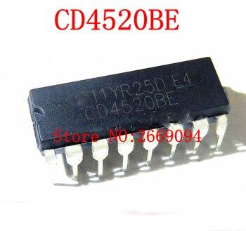 10 sztuk/20 sztuk CD4520BE CD4520BD DIP16 HCF4520BE HEF4520BP CD4520 DIP nowy i oryginalny IC darmowa wysyłka