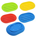 2pcs Silicon Soap Dish Water Bathroom Silicone Soap Box Storage Holder Plate Drain Worldwide Store