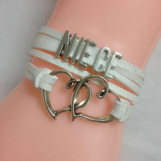 2017 Hot Designer Infinity Love Bracelet Women Diy Fashion Niece Bracelets Charm New Friendship Christmas