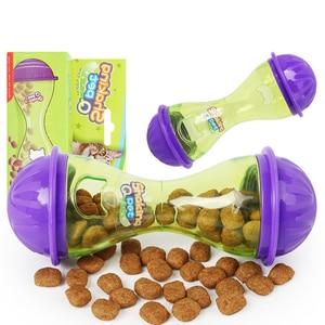 Image 3 - YVYOO distributeur daliments pour chats, jouet chat interactif, boule de friandise, intelligent, boule de nourriture pour animaux de compagnie, de jeu et dentraînement, fournitures pour animaux de compagnie D10