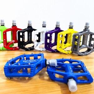 Педали для горного велосипеда из магниевого сплава, ультралегкие педали для горного велосипеда, педаль детали велосипеда, аксессуары 8 цветов на выбор
