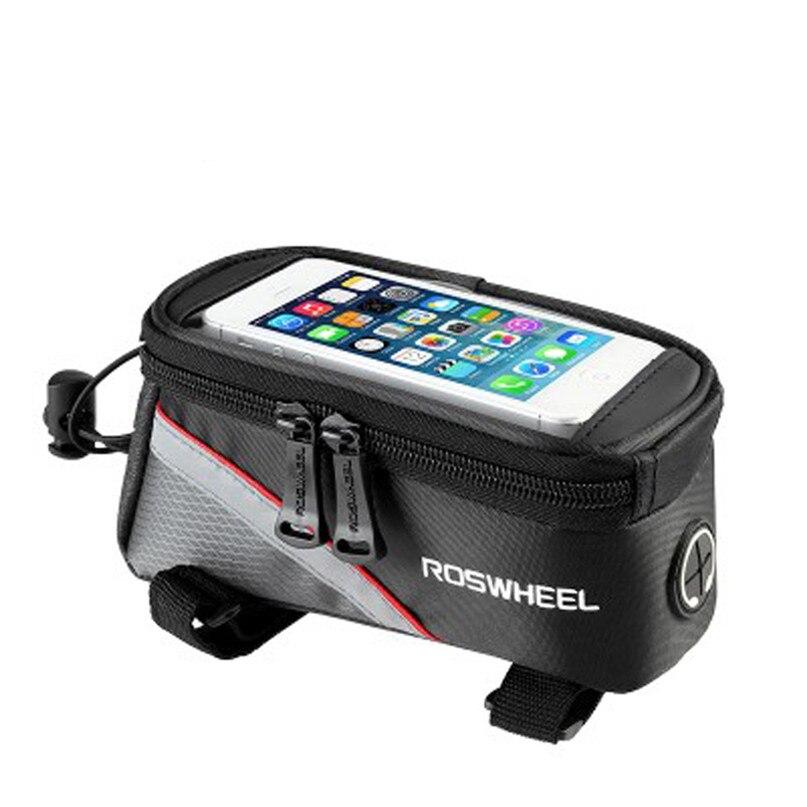 Bicycle Bag Waterproof MTB Bike Front Top Frame Handlebar Bag Bike Accessories For 5.5 Cellphone wholesale #2a09 (7)