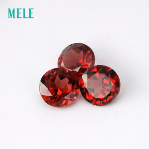 Top 10 diy garnet mele natural red garnet in 5mmx5mm round cut loose gemstone solutioingenieria Gallery