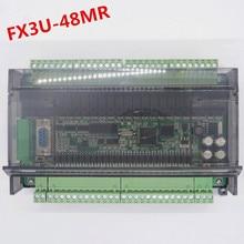 고속 FX3U 48MR/40mr 24 입력 24 출력 6 아날로그 입력 2 아날로그 출력 산업용 제어 보드 (rtu can 통신 포함)
