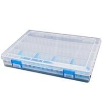 Groothandel 5X doos van vissen plastic opslag/transparante lokt doos