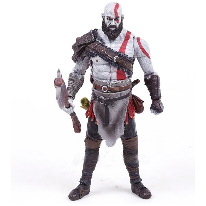 17cm NECA Game God of War Anime figures Kratos nendoroid PVC Action Figure Collectible Model toys for children oyuncak 12 neca toys god of war action figures 2 infamous kratos figure pvc action figure model toy gw005