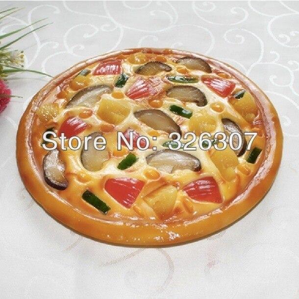 Personnaliser pizza artificielle nourriture modèle restaurant simulation modèle montre échantillon plat 9 pouces pizza Simulation alimentaire modèle FRIENZE