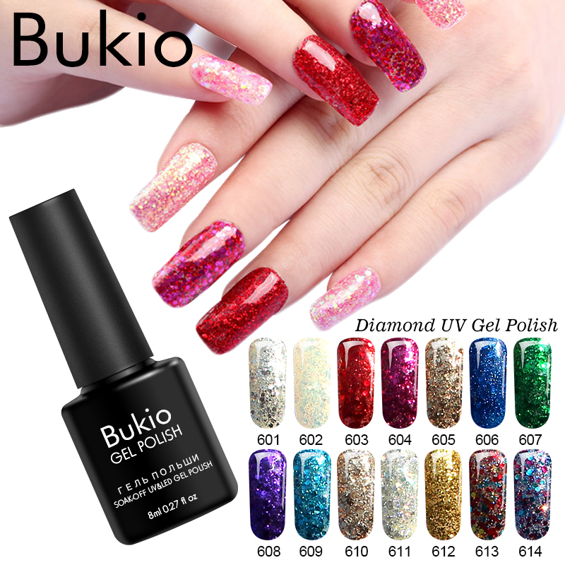 Gel Nail Polish Sale: Bukio Gel Nail Polish Sale Bling Soak Off All For Manicure
