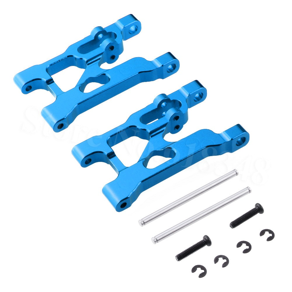 Aluminum Rear Lower Suspension Arm 0004 For FY01 FY02 FY03 WLtoys 12428 12423 1/12 RC Car Crawler Truck Upgrade Parts