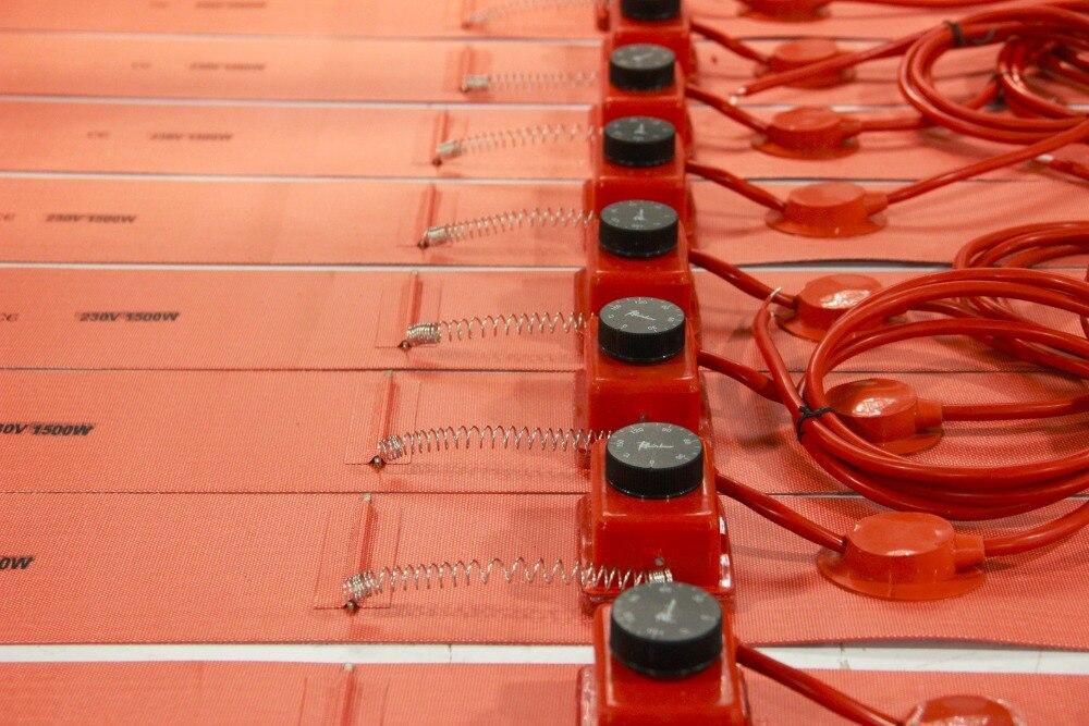 125X1740 мм гибкий барабан для Силиконового Масла Нагреватель силиконового каучука 55 галлонов/200 л барабанов гарантия 1 год и сертифицировано