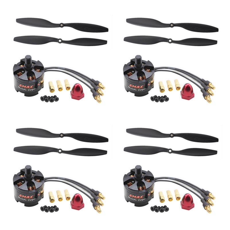 4set/lot EMAX 2212 MT2213 935KV Brushless Motor for F450 F550 X525 Multicopter Quadcopter 1045 Propellers 4x emax mt2213 935kv 2212 brushless motor for dji f450 x525 quadcopter multirotor