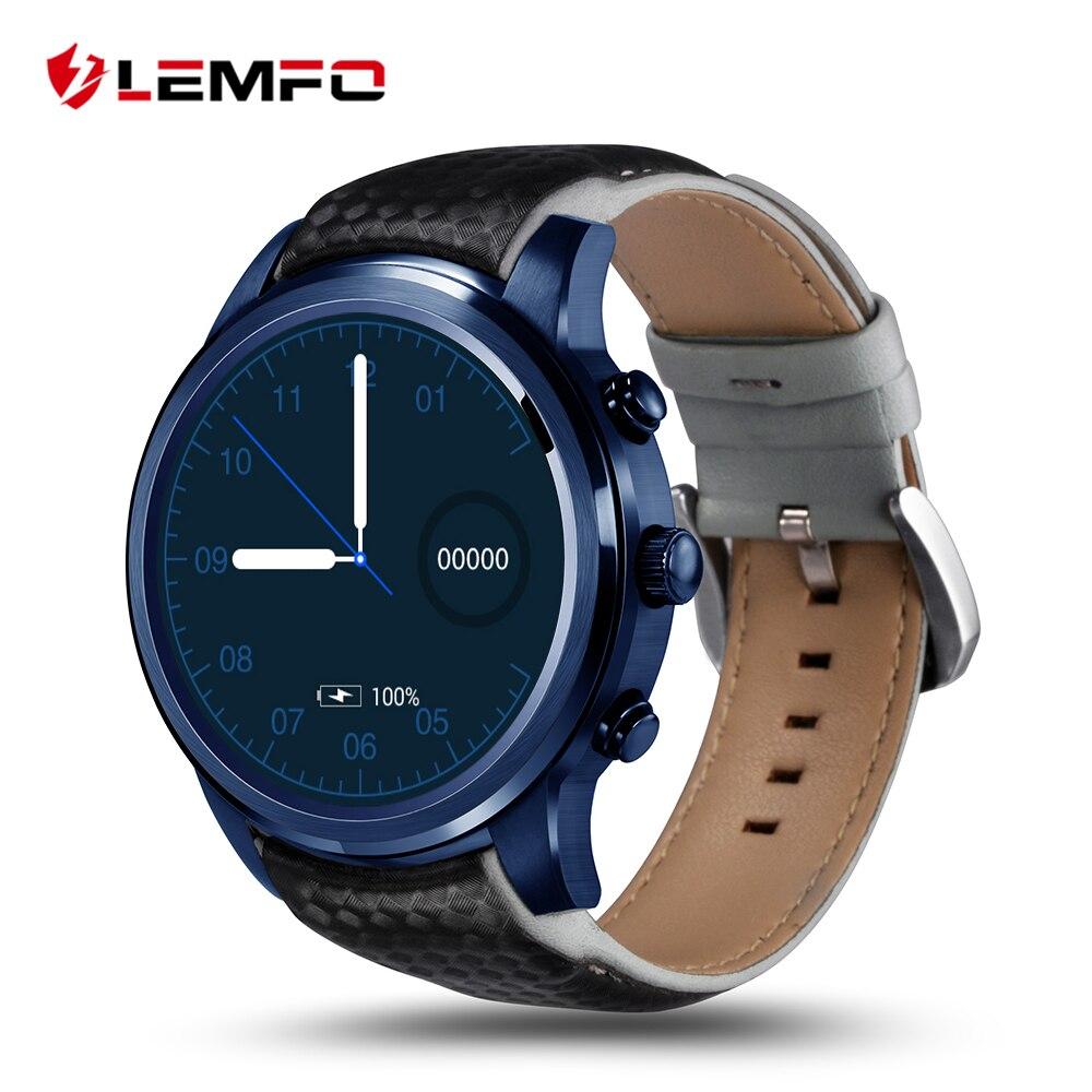 Galleria fotografica LEMFO LEM5 Pro Astuto Della Vigilanza <font><b>Smartwatch</b></font> Bluetooth SIM WIFI GPS Telefono Della Vigilanza Del Android 5.1 2 GB + 16 GB