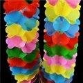 2 Set/lote Círculo Compressão Flor Acessórios Flor Truque de Mágica Gimmick Encenar Truques de Mágica Adereços Criança Puzzle Brinquedo Criança