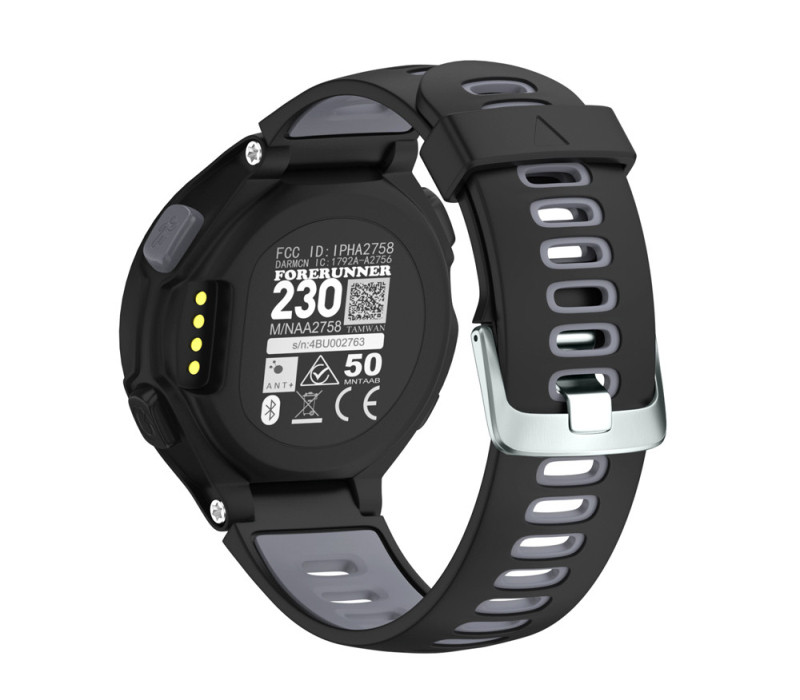 Susenstone 2018 watchband Luxury watch strap silicone brand for Garmin Forerunner 230 / 235 / 220 correa reloj saat kordonu jansin 22mm watchband for garmin fenix 5 easy fit silicone replacement band sports silicone wristband for forerunner 935 gps