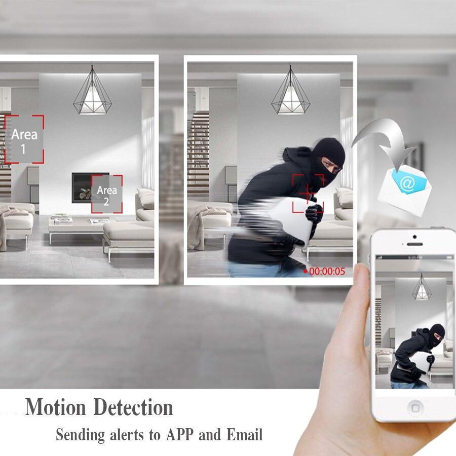 BFMore H.265 5.0MP WIFI caméra IP sécurité extérieure étanche réseau de Surveillance CCTV caméra IR Vision nocturne Onvif 2.1 câblé - 4