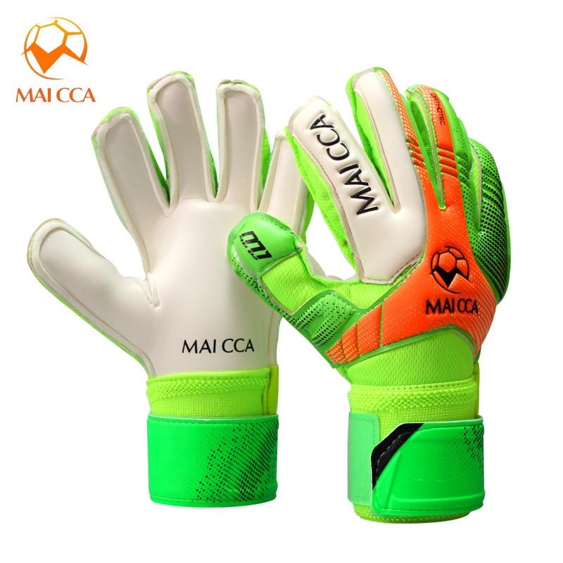 Enfants gants de gardien de but Football professionnel Protection des doigts gants de Football gants dentraînement respirant épaissir Latex antidérapant