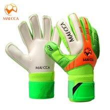 цена на Kids Goalkeeper Gloves Football Professional Finger Protection Soccer Gloves Training Gloves Breathable Thicken Latex Non-slip