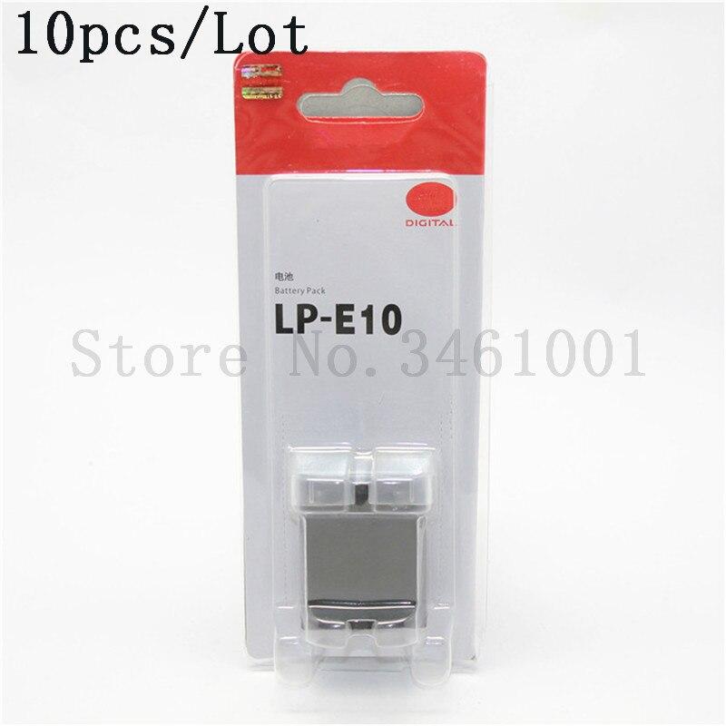 10 unids/lote LP E10 batería LP E10 LPE10 baterías para Canon EOS 1100D 1200D rebelde T3 53 beso X50 X70-in Batería de cámara from Productos electrónicos on AliExpress - 11.11_Double 11_Singles' Day 1