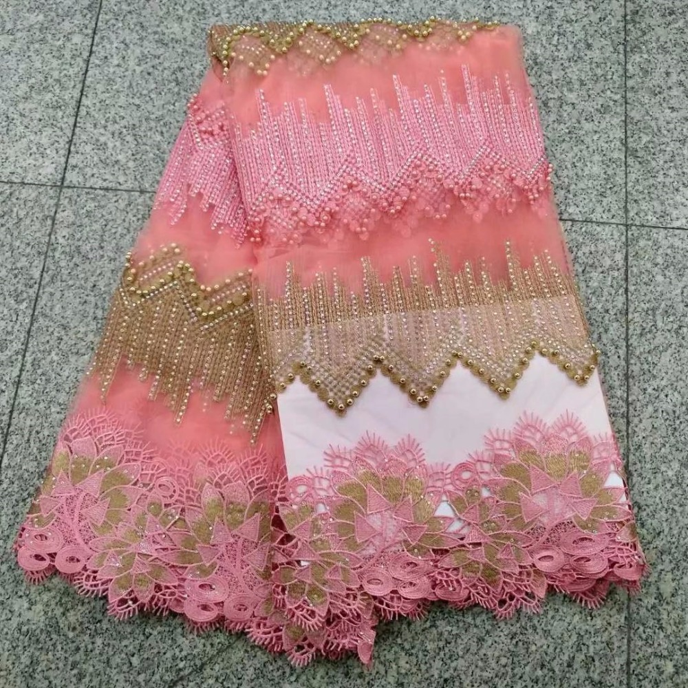 Best Quality African Pearls Lace Fabric Swiss Voile Lace High Quality Embroidery French Mesh 2018 Nigeria Lace FabricBest Quality African Pearls Lace Fabric Swiss Voile Lace High Quality Embroidery French Mesh 2018 Nigeria Lace Fabric