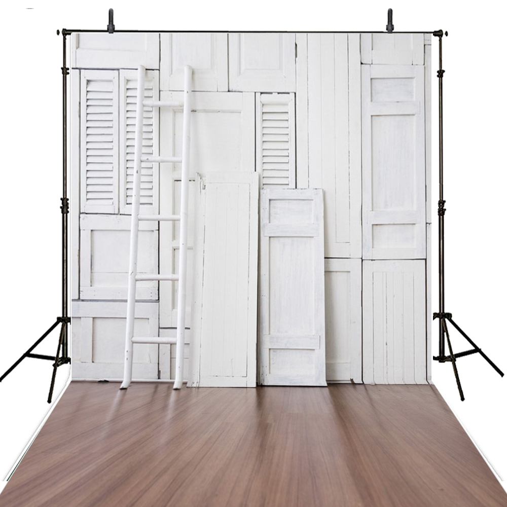 Wedding White Wood Wall Photo Background for Photo Studio Wood Vinyl Photography Backdrops Custom toile de fond studio photo