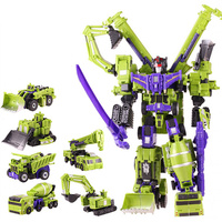 New Big Size Transformation Devastator Boys Toys Action Classic Figures Robot Model Constructions Anime Engineering vehicle Gift