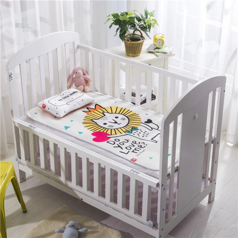 Boys Girls Bedding Cotton Blanket Infant Cartoon Portable Nest Removeable Cushion Newborn Cotton Pad For 0 24 Months