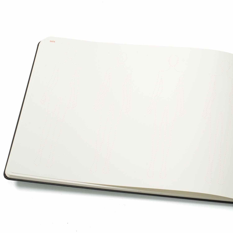 Besar Wanita Fashion Notebook Dengan Mini Fashion La Dan Nyaris Tidak Terlihat Wanita Gambar Template Bertujuan Untuk Cepat Membuat Sketsa