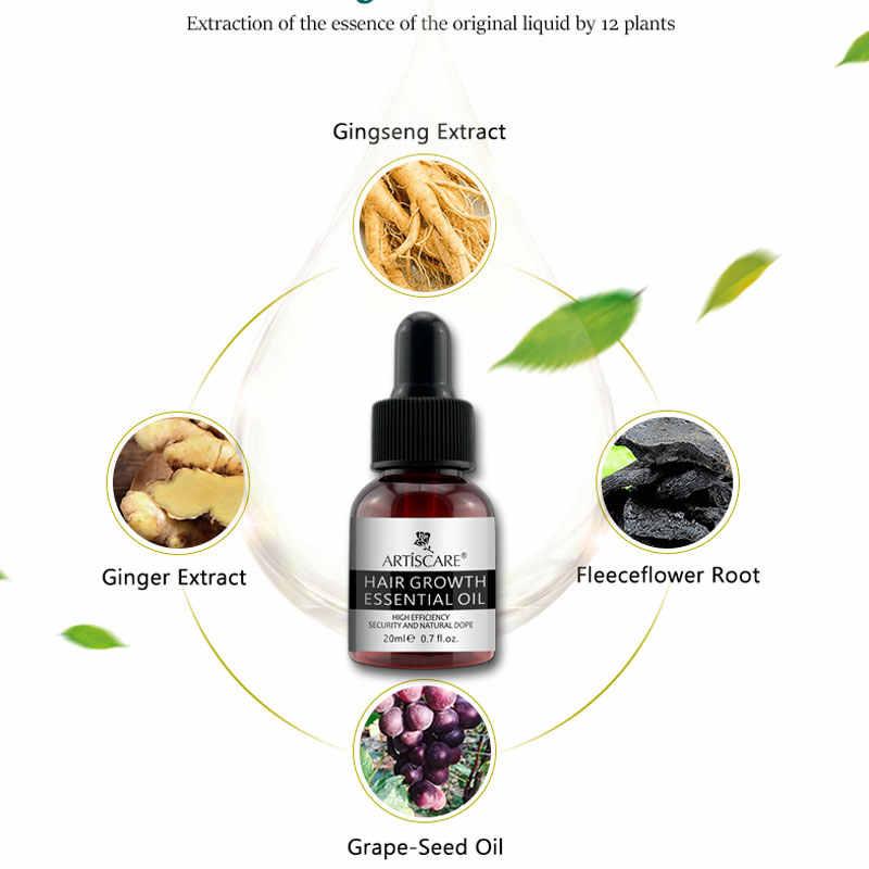 ARTISCARE эфирное масло для роста волос против выпадения волос Жидкое лечение восстановления волос густая Сыворотка для восстановления волос уход за здоровьем красота