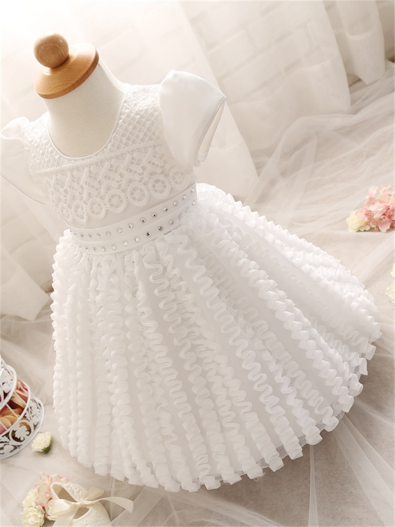 Magnificent Baby Baby-Girls Newborn Girls Diamond Gown
