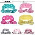 Twdvs bebé headwear de la muchacha nudo punto accesorios niños vendas elásticos del pelo del pelo de la venda recién nacido accesorios de fotografía kt001