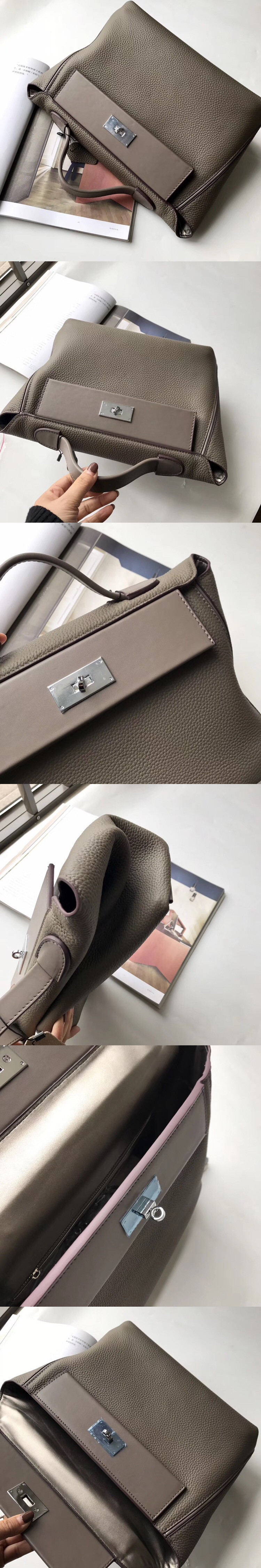 Luxury Designer Handbags 2019 Women Genuine Leather Famous Brand Handbags High Quality Tote Shoulder Bag purse (3)