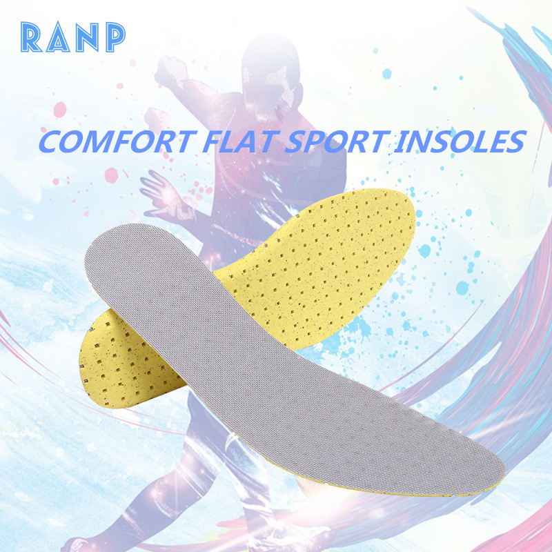 RANP Light Weight Memory Foam Running Sport Anti-Slip Shock Absorption Pads Arch Support Orthopedic Air Cushion Insert Insoles