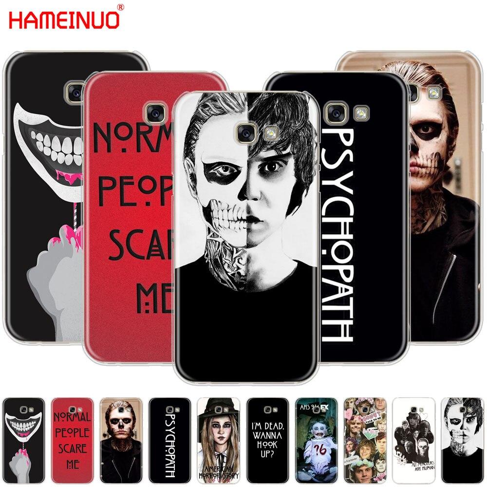 Hameinuo психопат Эван Питерс ужас сотовый телефон чехол для Samsung Galaxy A3 A310 A5 A510 A7 A8 A9 2016 2017
