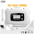 Homely and Fashionable signal Repeater 2G 4G LCD DCS 1800MHz Mobile Signal Booster with Yagi antenna and Ceiling antenna kit