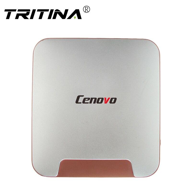 Nueva cereza cenovo mini pc 2 tv box win10 en tel Trail Z8350 Quad core 4 GB RAM