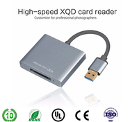 High Quality New Arrival High Speed 5Gbps USB3 0 Port Design XQD Card Reader XQD 2