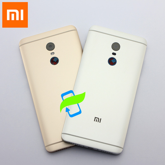 Original Battery Back Cover For Xiaomi Redmi Note4 Back Housing Rear Door Case For Redmi Note 4 Power Volume Buttons+Camera Lens