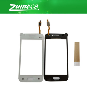 50PCS/Lot 4.0'' For Samsung Galaxy SM-G318H G318h G318 Touch Screen Digitizer Touch Panel Lens Glass Black White Color With Tape