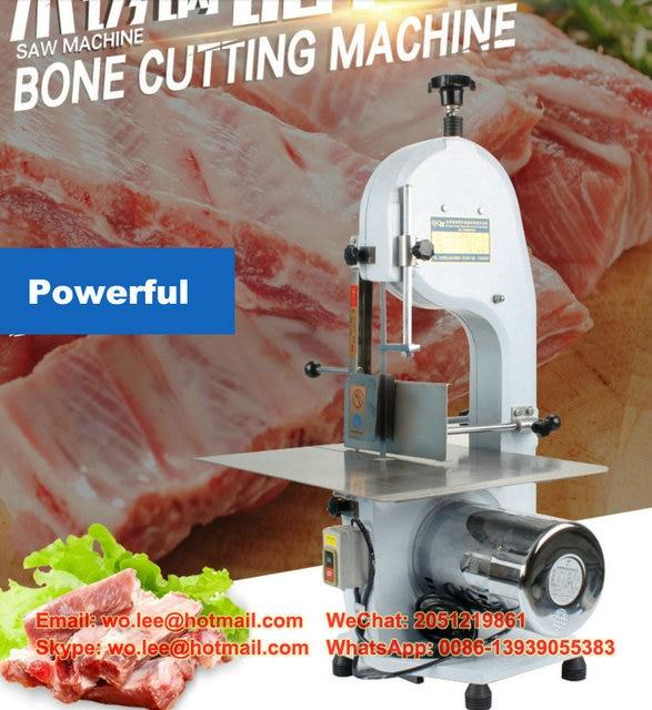 dhl free electric 220v commercial bone saw 250 electric bone cutting machine beef steak frozen