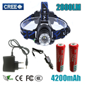 Z30 Headlight T6 led headlamp zoom flashlight  adjustable head lamp 2800lm XM-L T6 18650 battery front light Recharge zoomable