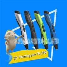 The Third Generation of 3D Drawing Pen SL-300 Children's Printer 3D Stereo Graffiti Painting Pen Creative Pen DC12V 2A 24W Hot