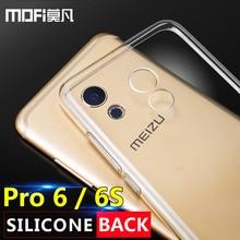 meizu pro 6 case meizu pro 6 case back silicone ultra thin clear mofi original 5.2 inch pro 6 coque protection accessory