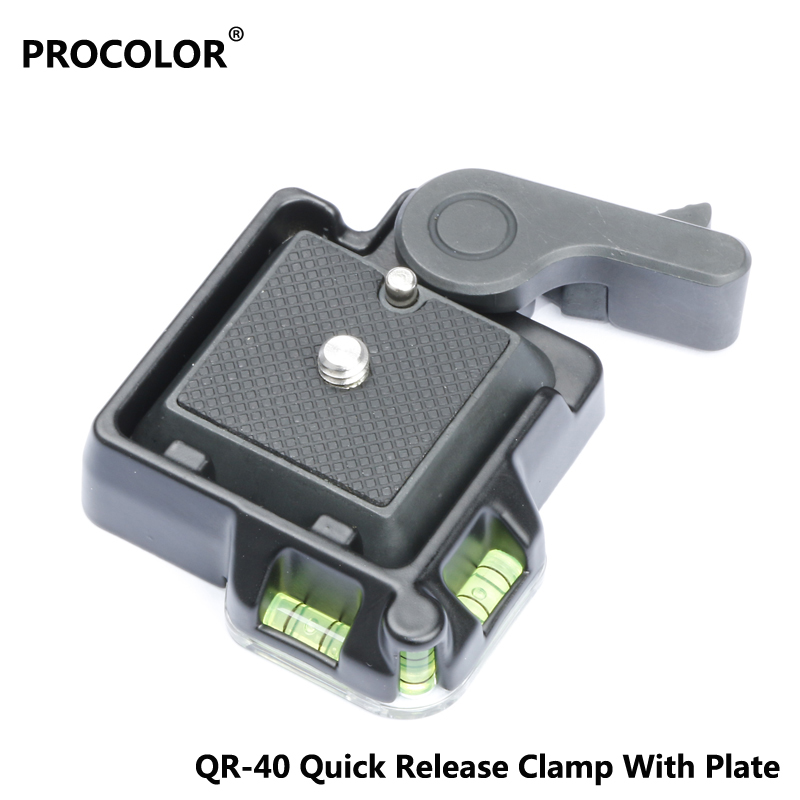Universal Quick Release clamp Aluminum Alloy Tripod Monopods Quick Release Plate for Giottos MH630 Mount MH7002-630 MH5011