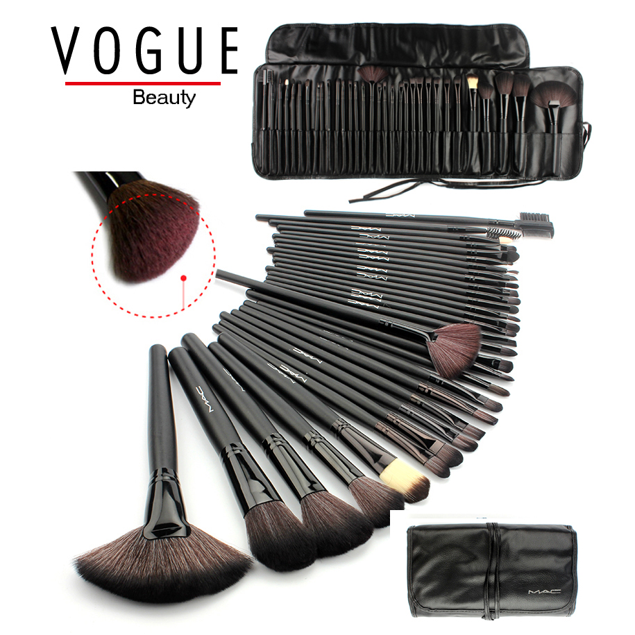 makeup brushes 24/32 PCS pincel de maquiagem best make up brushes maquiagem professional of makeup brush set + Black Leather Bag aquarium liquid glitter brush set mermaid makeup brushes bling bling glitter handle make up brush kit pincel sereia maquiagem