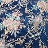 Luxurious American Style Jacquard Chenille Flower Design Sofa Drapery Villas Hotel Home Decoration Curtain Fabric