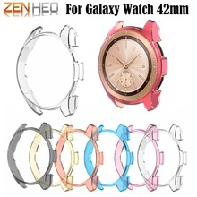 Colorful Watch Frame PC Protect Case Shell Cover for Samsung Galaxy 42mm Smart Protective