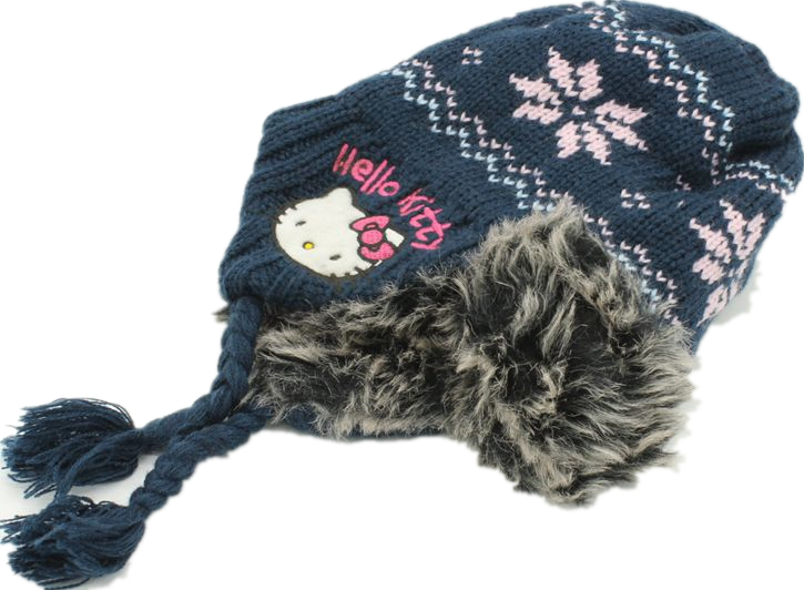 0-3 Years Winter Kids Children Cotton Hat Hello Kitty Earmuffs Beanies Photo Photography Cute Fur Cap Bow Gorro Girl Beanie Hat